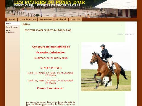 poney d'or ffe