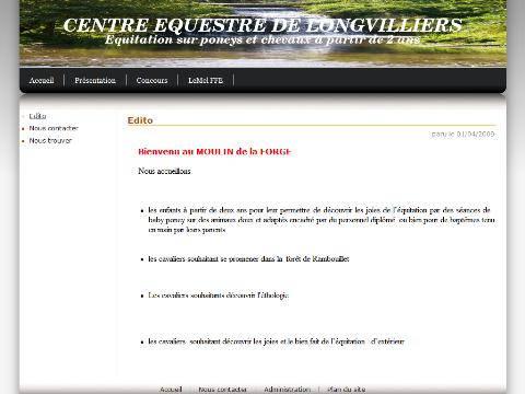 Centre questre de longvilliers 8443 for Longvilliers 78