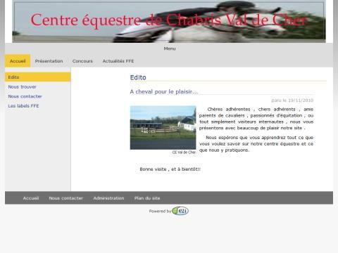 centre equestre chabris