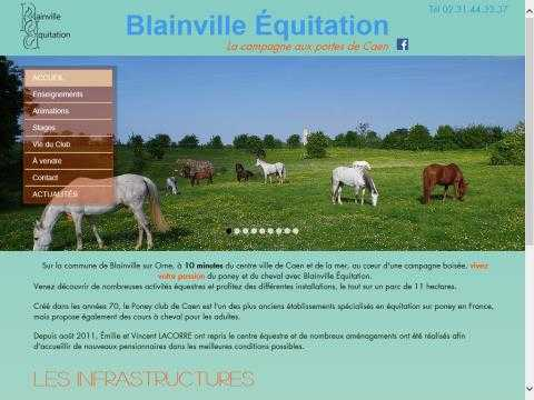 Blainville equitation 17366 for Club piscine blainville