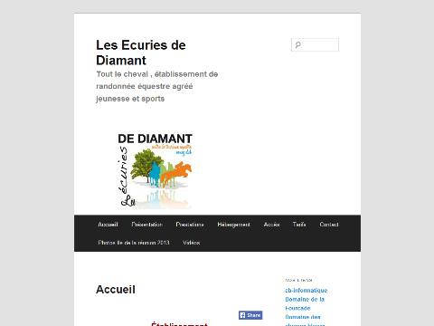 Les ecuries de diamant 9601 for Code postal maureilhan