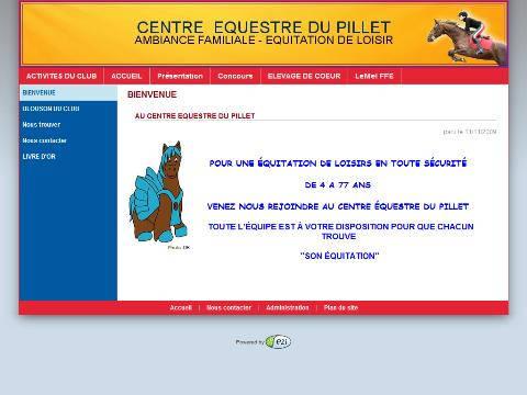 Centre 233 Questre Du Pillet 12818